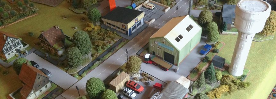 Building Complexs - Grouping buildings and micro terrain to the create that modern feel