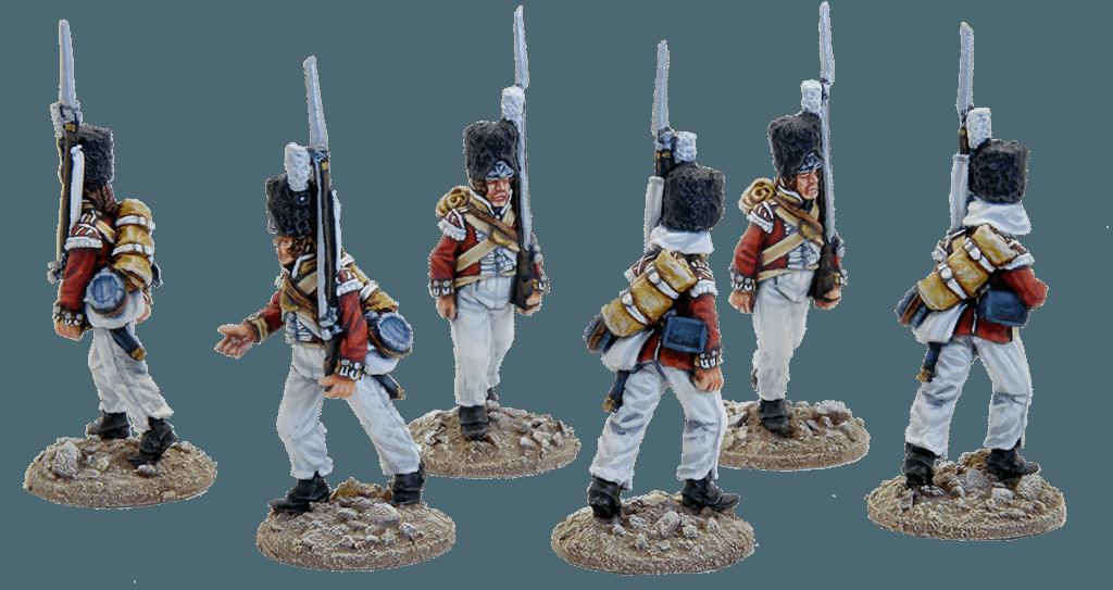 British Grenadiers of the 61st Foot