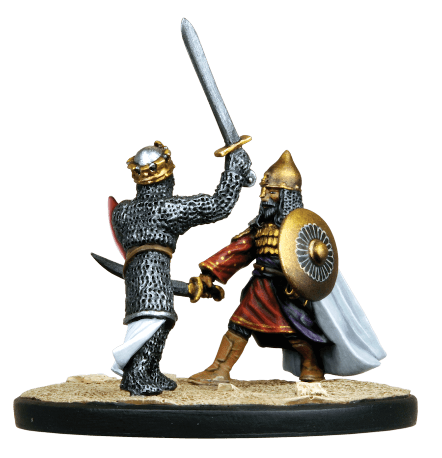 richard the lionheart vs saladin The third crusade  saladin and richard the lionheart are two names that tend to dominate the crusades both have gone down in medieval history as great military .