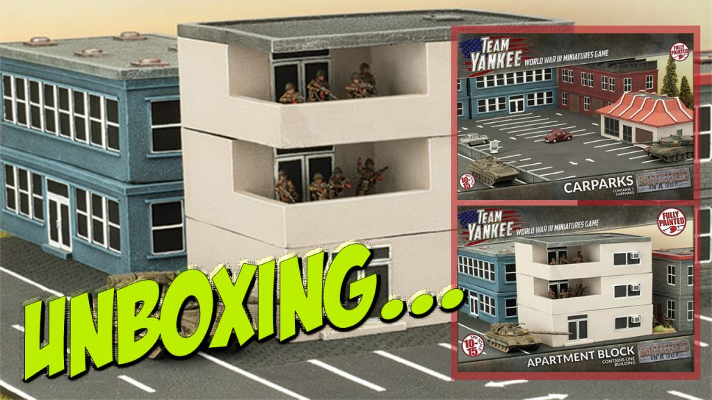 wargames illustrated battlefield in a box apartment block and carparks. Black Bedroom Furniture Sets. Home Design Ideas