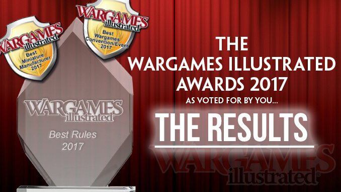 Wargames Illustrated   THE WARGAMES ILLUSTRATED AWARDS 2017