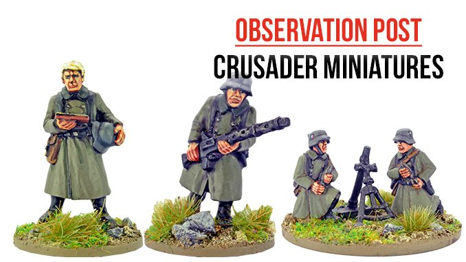 Wargames Illustrated | 28mm WW2 German Infantry in Greatcoats