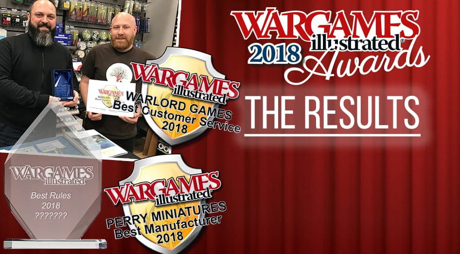 Wargames Illustrated   THE WARGAMES ILLUSTRATED 2018 AWARDS