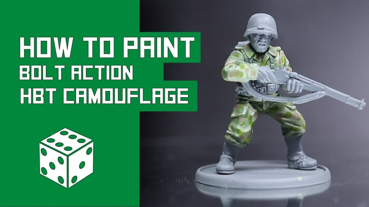 Wargames Illustrated | How To Paint U S HBT Camouflage