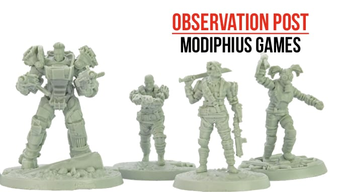 Wargames Illustrated | 32mm Post Apocalyptic Miniatures