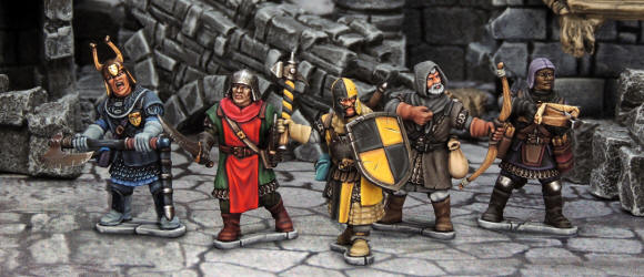 Painted Frostgrave Knights